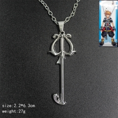 Popular Keys Designs Kingdom Hearts Anime Fancy Necklace