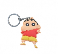 Crayon Shin-chan Japanese Cartoon Pendant Anime Keychain