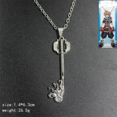 Good Quality Kingdom Hearts Anime Alloy Cheap Necklace