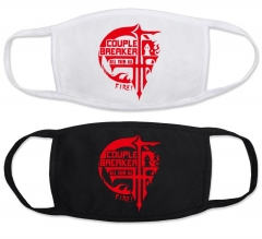 FFF Black And White Anime Mask(set)