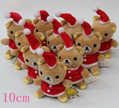Rilakkuma Anime Plush Pendant(3pcs/set)