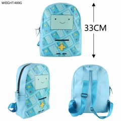 Adventure Time Cartoon Cute BMO Anime Colorful Sports Backpack Bag