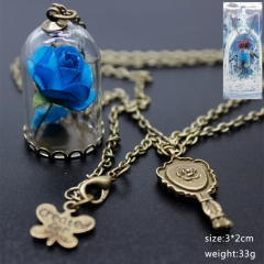 Beauty and the beast. Anime Necklace