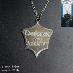 Game World Of Warcraft Anime Silvery Cheap Necklace