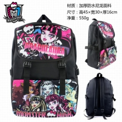 Monster High Anime Nylon Student Backpack Bag Cosplay Wholesale