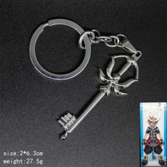 Popular Cartoon Design Kingdom Hearts Anime Fancy Alloy Keychain
