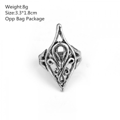 The Lord of the Rings Alloy Anime Ring (10pcs/set)