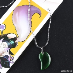 Onmyouji Cartoon Green Wholesale Fashion Jewelry Anime Necklace