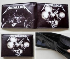 Metallica Anime Wallet