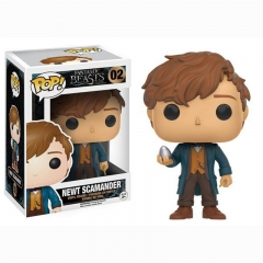 Funko POP Fantastic Beasts and Where to Find Them Newt Scamander Cartoon Toys Anime Action Figure 02#