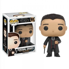 Funko POP Fantastic Beasts and Where to Find Them PERCIVAL GRAVES Action Anime Figure 07#