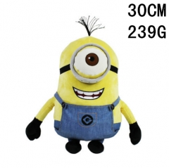 Despicable Me Smiling Face Cartoon Doll Anime Plush Toy