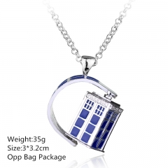 Doctor Who Alloy Anime Necklace (10pcs/set)