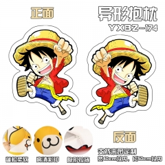 One Piece Luffy Deformable Cartoon Anime Plush Pillow 40*50CM