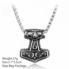 The thor Silver Alloy Anime Necklace (10pcs/set )