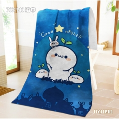 Kaomoji Anime Bath Towel