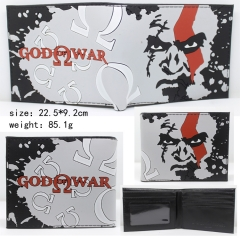 God of War Hot Game Purse Wholesale Silica Gel Anime Wallet