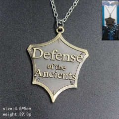 World Of Warcraft Anime Bronze Color Cheap Necklace