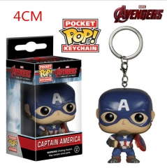 Funko POP Captain America Anime Figure Keychain