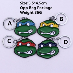 Teenage Mutant Ninja Turtles Anime Keychain (10pcs/Set)