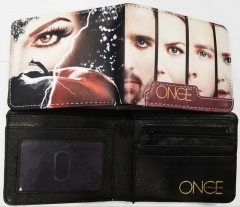 Once Movie PU Leather Wallet
