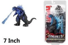 NECA Godzilla Cartoon Toys Blue Wholesale Anime Figure 7 Inch