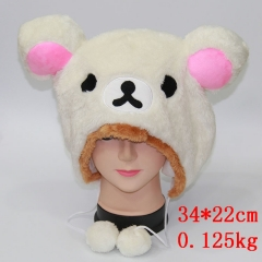 Rilakkuma Anime Plush Hat