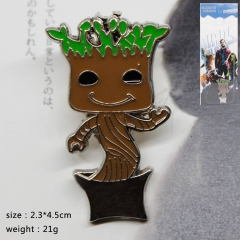 Guardians of the Galaxy Anime Brooch