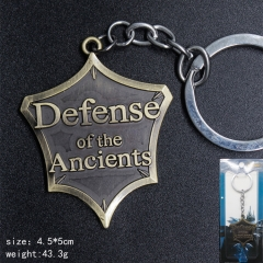 World Of Warcraft Anime Bronze Color Cheap Keychain