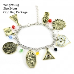Fantastic Beasts and Where to Find Them Alloy Anime Bracelet set