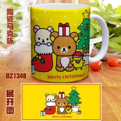 Rilakkuma Color Printing Cartoon Ceramic Mug Anime Cup