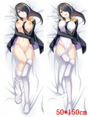Kemono Friends Cartoon Stuffed Bolster Sexy Girl Soft Anime Pillow 50*150CM