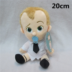 The Boss Baby Cute Cartoon Dolls Anime Plush Kid Toys 20cm