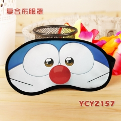 Doraemon Color Printing Cartoon Composite Cloth Anime Eyepatch