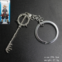 Cartoon Kingdom Hearts Anime metal Cosplay Keychain