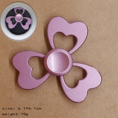 Heart Shape Pink Anime Hand Fidget Spinner
