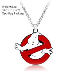 Ghostbusters Alloy Anime Necklace (10pcs/set)