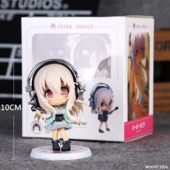 SuperSonico Anime Figure  Pvc Cartoon Plastic10cm
