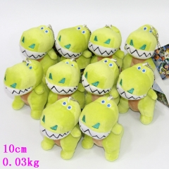 The Good Dinosaur Plush Toy Pendant Anime Soft Keychain 10pcs/set