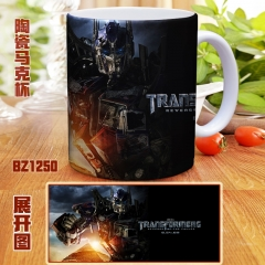 Transformers Color Printing Ceramic Mug Anime Cup
