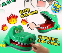 Biting Hand Crocodile Board Game for Kids