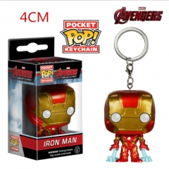 Funko POP Iron Man Anime Figure Keychain
