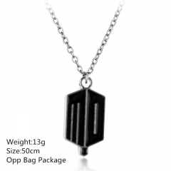 Doctor Who Silver Alloy Anime Necklace Wholesale Popular Choker (10pcs/set)