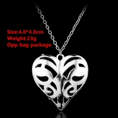 The Vampire Diaries Heart Anime Necklace(10pcs/Set)