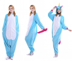 Blue Unicorn Animal Pyjamas