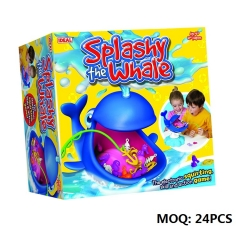 Popular Game Toys Splashy The Whale Action Board Game
