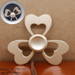 Heart Shape Gold Anime Hand Fidget Spinner