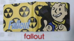 Fallout Shelte Game Anime Wallet