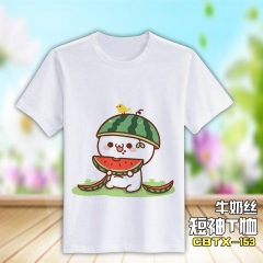 Kaomoji QMilch Short Sleeves Anime Tshirt