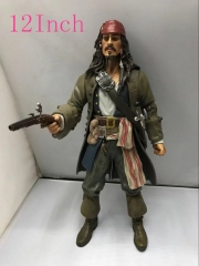 Pirates of the Caribbean Jack Sparrow Anime Figures  12Inch